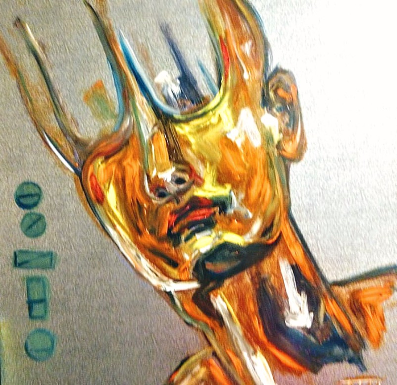 """Empty"" by Artist Tarah Singh"